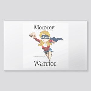 Mommy Warrior Sticker