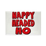 Nappy Headed Ho Red Design Rectangle Magnet