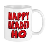 Nappy Headed Ho Red Design Mug