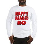Nappy Headed Ho Red Design Long Sleeve T-Shirt