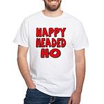 Nappy Headed Ho Red Design White T-Shirt