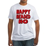 Nappy Headed Ho Red Design Fitted T-Shirt