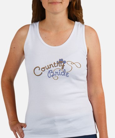 Country Bride Women's Tank Top