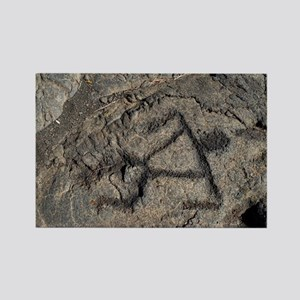Puu Loa Petroglyph Rectangle Magnet
