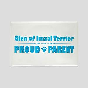 Glen Parent Rectangle Magnet