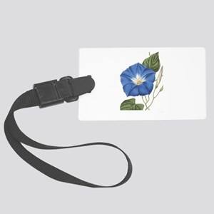Morning Glory Luggage Tag