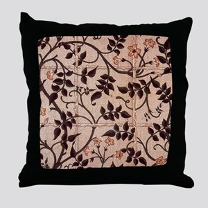 William Morris Jasmine Trellis Throw Pillow