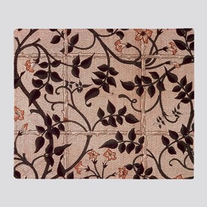 William Morris Jasmine Trellis Throw Blanket