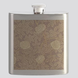 William Morris Rose Flask