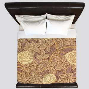 William Morris Rose King Duvet