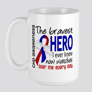 CHD Bravest Hero Large Mug