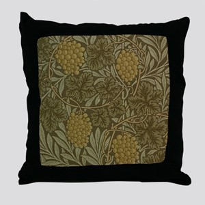 William Morris Vine Throw Pillow