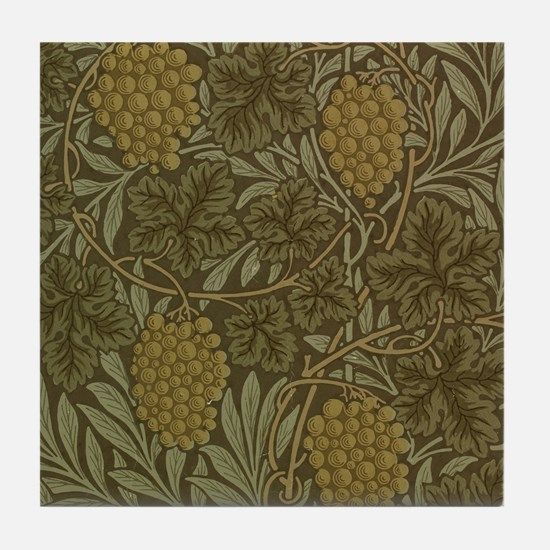 William Morris Vine Tile Coaster