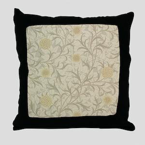 William Morris Scroll  Throw Pillow