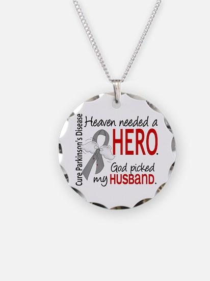 Parkinsons HeavenNeededHero1 Necklace Circle Charm