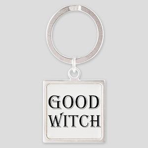 Good Witch Halloween Keychains