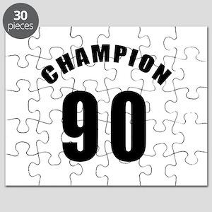 90 Champion Birthday Designs Puzzle