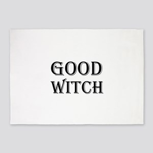 Good Witch Halloween 5'x7'Area Rug