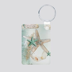 Summer Sea Treasures Beach Keychains