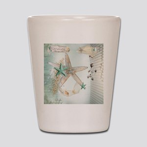 Summer Sea Treasures Beach Shot Glass