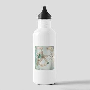 Summer Sea Treasures Beach Water Bottle
