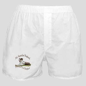 Australian Shepherd Thinks I'm Perfect Boxer Short