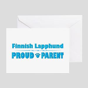 Lapphund Parent Greeting Cards (Pk of 10)