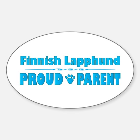 Lapphund Parent Oval Decal