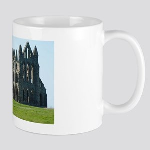 Whitby Abbey in Yorkshire, England Mug