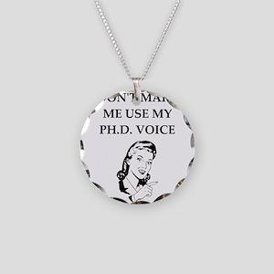 ph.d. joke Necklace