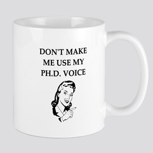 ph.d. joke Mugs