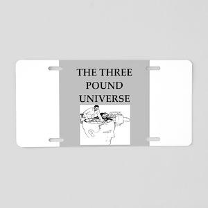 perception Aluminum License Plate