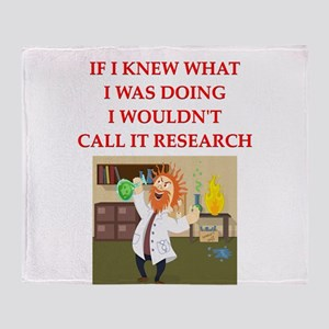 research Throw Blanket