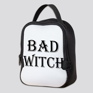 Bad Witch Halloween Neoprene Lunch Bag