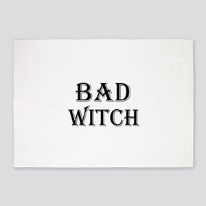 Bad Witch Halloween 5'x7'Area Rug