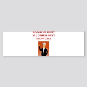 research Bumper Sticker