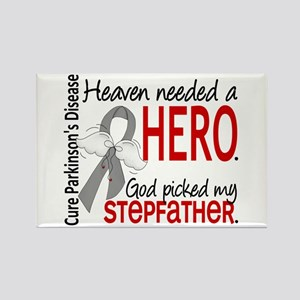 Parkinsons HeavenNeededHero1 Rectangle Magnet