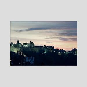 Edinburgh Rock Rectangle Magnet