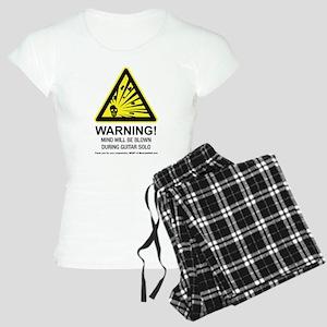 Mind Blown Guitar Women's Light Pajamas