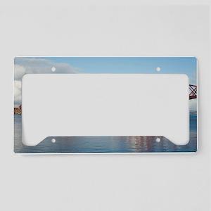 forth bridge panoramic License Plate Holder