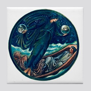 Burne Jones False Mercury Tile Coaster