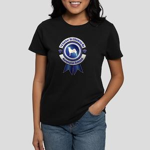 Showing Buhund Women's Dark T-Shirt