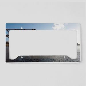 forth rail bridge License Plate Holder
