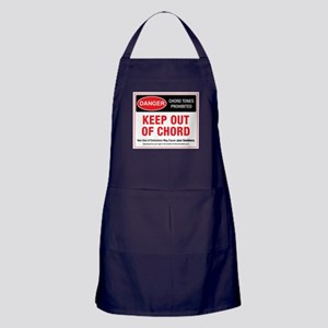 Keep Out Of Chord Apron (dark)