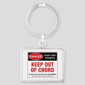 Keep Out Of Chord Keychain Keychains