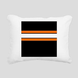 Team Colors 2...Orange,white and black Rectangular