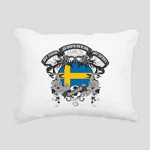 Sweden Soccer Rectangular Canvas Pillow