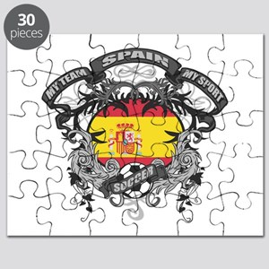 Spain Soccer Puzzle