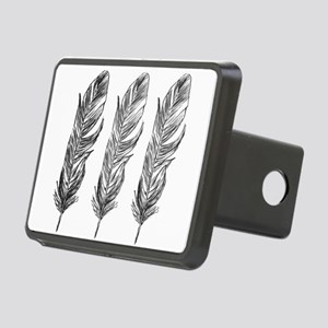 Three Feathers Rectangular Hitch Cover
