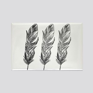 Three Feathers Magnets